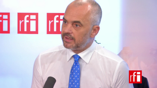 Edi Rama, Premier ministre albanais.