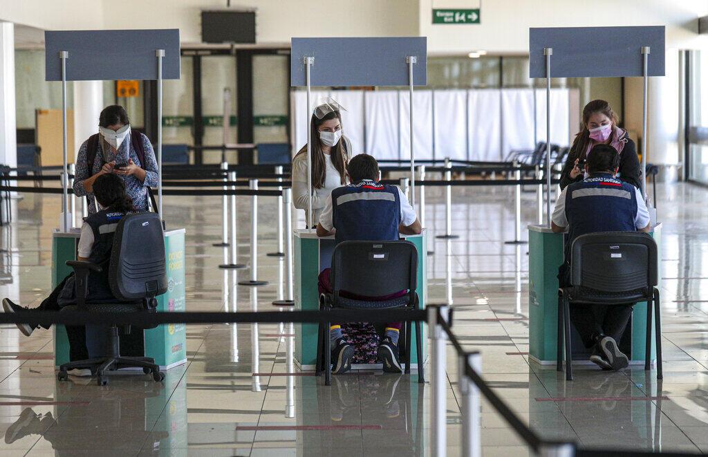 aeroporto Santiago