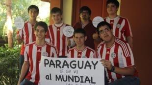 Paraguay no fue al Mundial de fútbol (Brasil) pero sí al Mundial de Matemáticas (Sudáfrica).