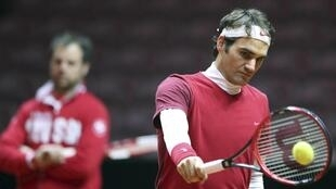 Le Suisse Roger Federer.
