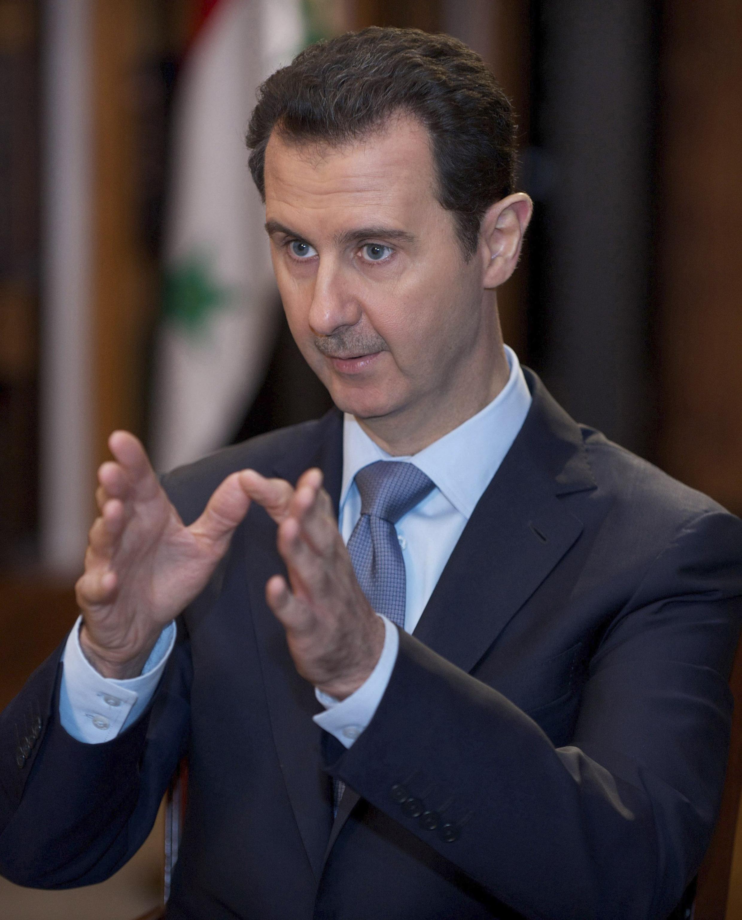 Интервью Башара Асада АФП в Дамаске 20/01/2014