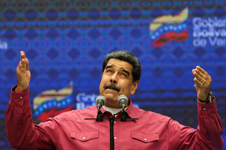Nicolas Maduro législatives venezuela