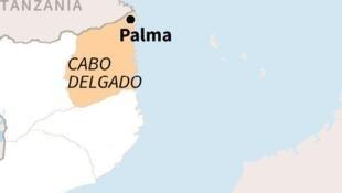2021-03-27 Mozambique map palma cabo delgado graphics