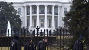 圖為美國白宮