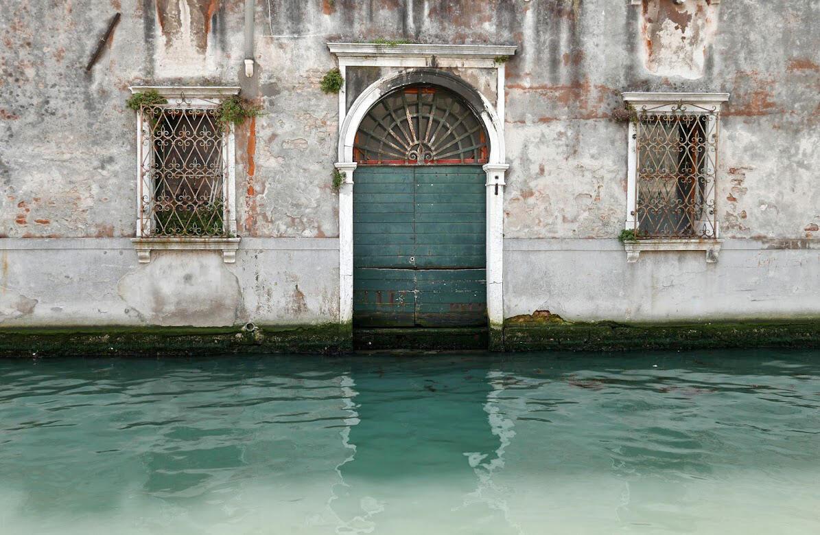 Venise, le bruit de l'eau.