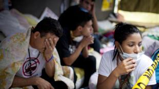 Venezuela: los estudiantes movilizados consideran que el Gobierno venezolano viola los Derechos Humanos y mantiene presos políticos.