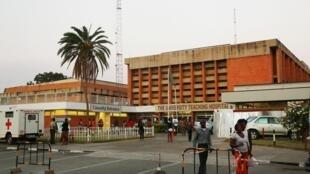 Moja ya Hopitali kuu za mji wa Lusaka,  Zambia.