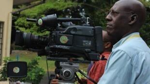 Hoton wani gwanin daukan fina-finai Christophe Nkezabahizi a birnin Bujambura