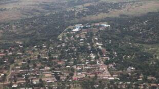 Vue aérienne de la ville de Kananga. (Photo d'illustration)