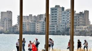 Varosha a été abandonnée en 1974 après avoir été entourée de clôtures par les militaires turcs.