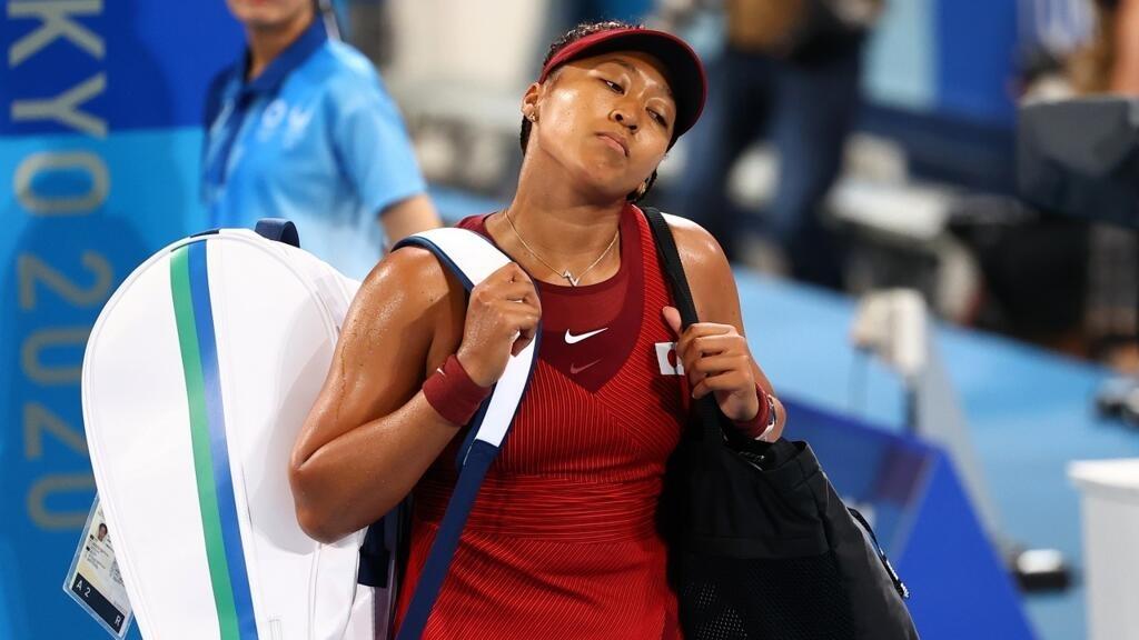 Tokyo 2021-Tennis: la Japonaise Naomi Osaka éliminée dès les huitièmes de finale