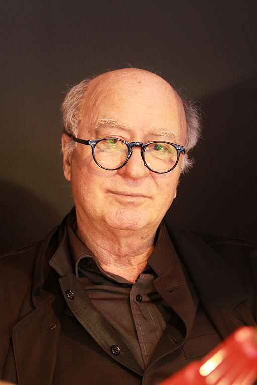 Georges Wolinski, no Salão do Livro de Paris, em 2011.