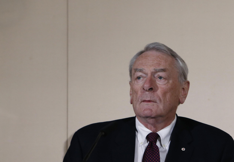 Dick Pound,ex presidente de la  Agencia Mundial Antidopaje (AMA) y coautor del informe  sobre el dopaje y  la corrupción en el atletismo ruso.