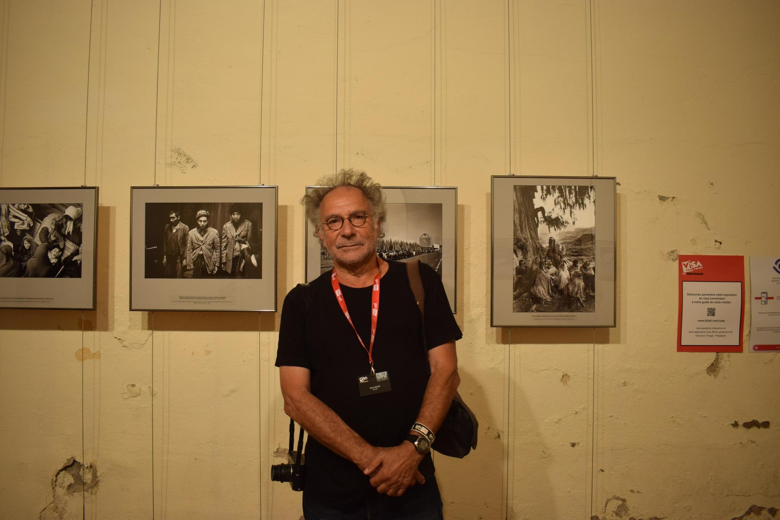 Alain Keler has his photography from years of travel on display at the Visa Pour L'image festival in Perpignan, September 5, 2019