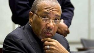 Rais wa zamani wa Liberia Charles Taylor