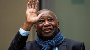 Laurent Gbagbo devant la Cour pénale internationale de La Haye, le 6 février 2020.