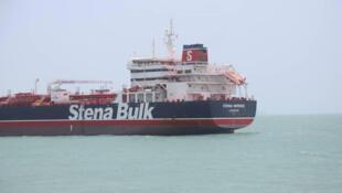 Нефтяной танкер Stena Impero