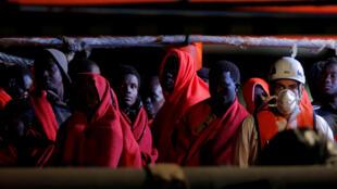 España es la tercera puerta de entrada de migrantes a Europa, por detrás de Italia y Grecia.