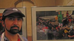 Massoud Hossaini est resté proche de Tarana, «la petite fille en vert» de la photo.