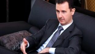 O Presidente sírio, Bashar al-Assad
