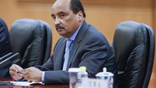 Le président mauritanien Mohamed Ould Abdel Aziz.