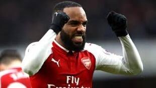 Dan wasan Arsenal Alexandre Lacazette