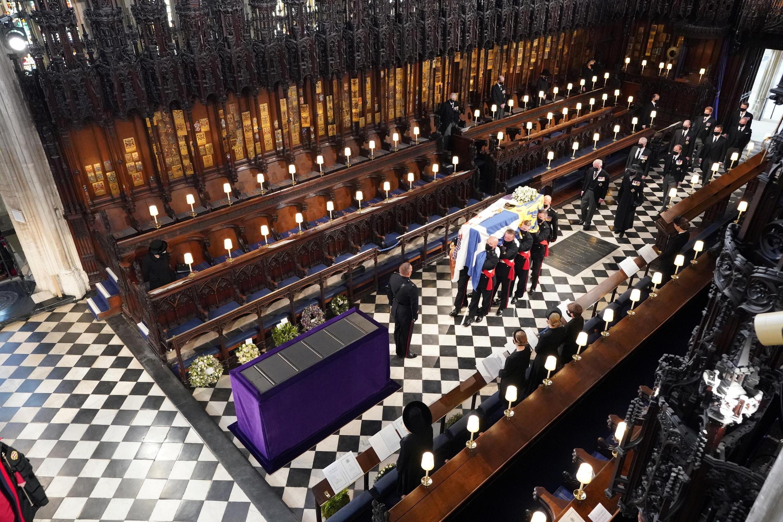 2021-04-17 britain royal family prince philip funeral queen elizabeth ii united kingdom windsor castle