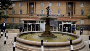 La Cour suprême à Nairobi, le 25 octobre 2017.
