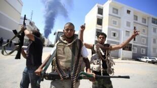 Tripoli, 25 août 2011. Une autre «culture» est possible pour les jeunes révolutionnaires libyens.