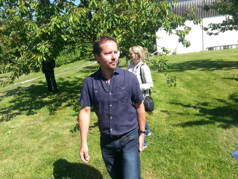 Pascal Crevel, arboriculteur au Mesnil sous Jimmièges, en Seine Maritime.