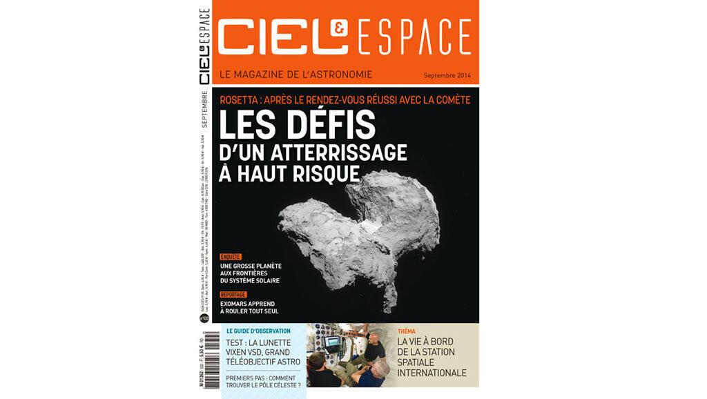 """""""Ciel et espace"""" septembre 2014"""