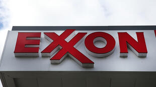 Logótipo da Exxon numa estação de gasolina em Nova Iorque. 28 de Outubro de 2016.