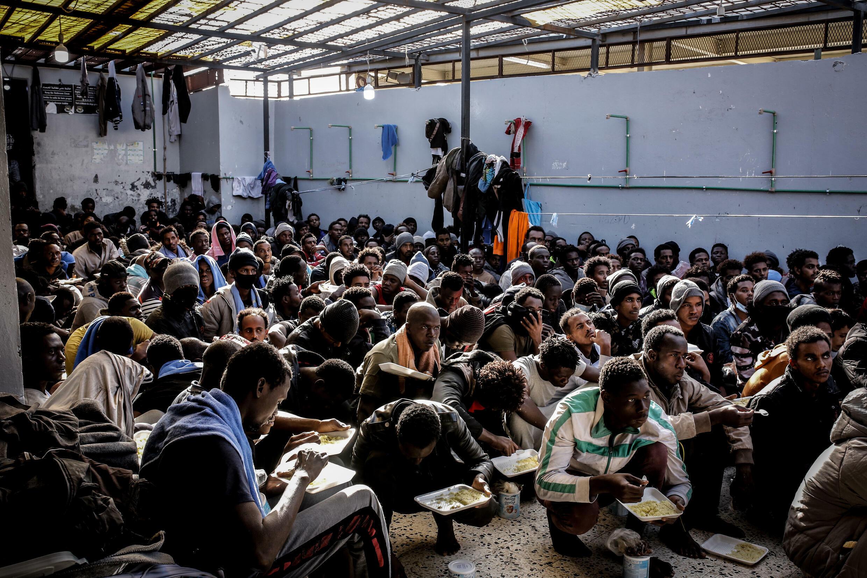 Libya migrants detention