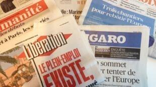 Jornais franceses de 16/09/16