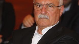 Georges Sabra, novo presidente do Conselho Nacional Sírio, força da oposição contra o regime de Bachar al-Assad.