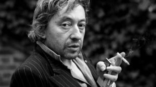 Serge Gainsbourg, le 18 avril 1980 à Paris.