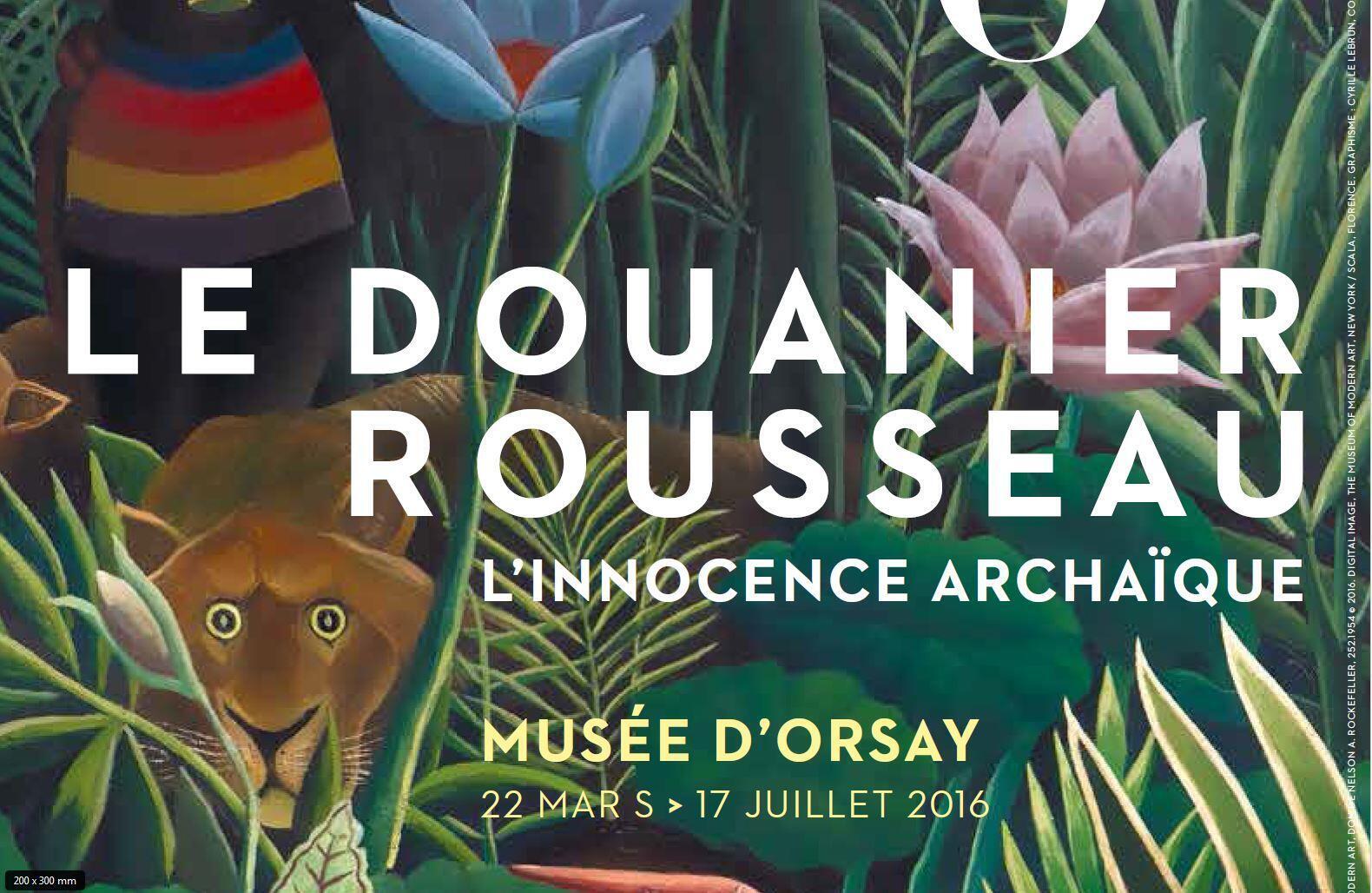 Выставка работ Анри Руссо в музее Орсе продлится до 17 июля.