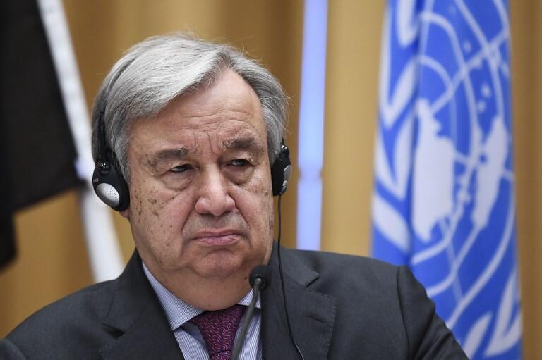 联合国秘书长古特雷斯资料图片