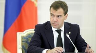 俄羅斯總統梅德韋傑夫