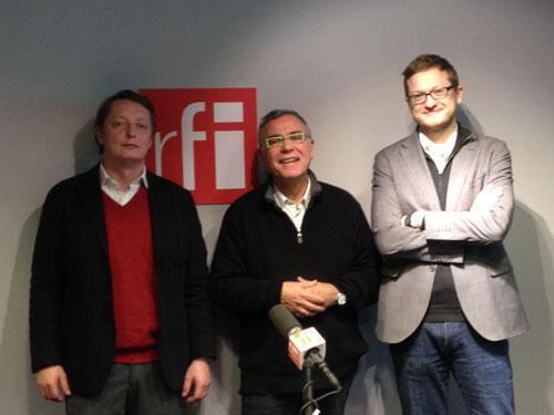Michel Eltchaninoff et Alexis Prokopiev.