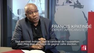 Francis Kpatindé, expert africaniste.