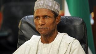 Le président nigérian, Umaru Yar'Adua, le 24 juin 2009.
