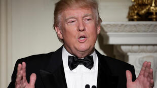 Donald Trump, Presidente dos Estados Unidos. 26 de Fevereiro de 2017.