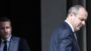Le leader de la CFDT a été reçu par le président de la République Emmanuel Macron, à l'Elysée, le 23 mai 2017.