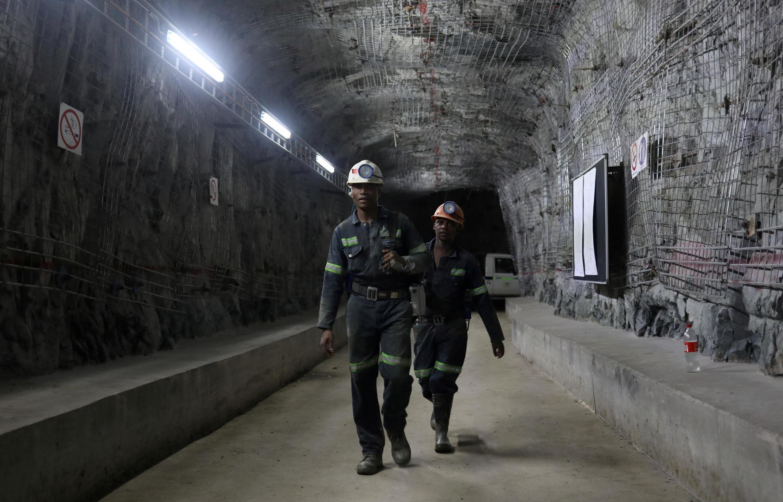 Des travailleurs dans la mine de Cullinan, près de Prétoria (image d'illustration).