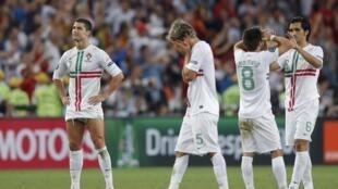 Selecção portuguesa é afastada do Euro 2012