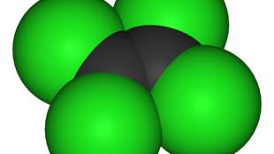 四氯乙烯 化學分子結構圖
