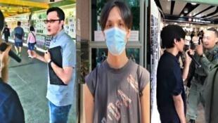 社工呂智恒(中)脫罪,官批食环署职员(图左)隐瞒身分执法不当2020年11月25日