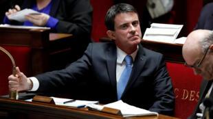 Manuel Valls, candidat à l'éléction presidentielle française en 2017.