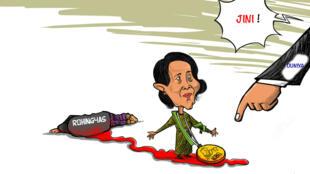 Aung san suu kyi ta damu da halin da kisan da ake yiwa kabilar Rohingyas